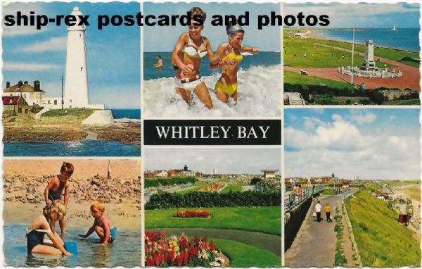 Whitley Bay (Northumberland) postcard